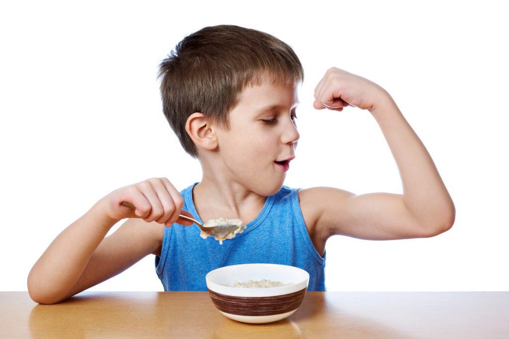 comida para niños deportistas