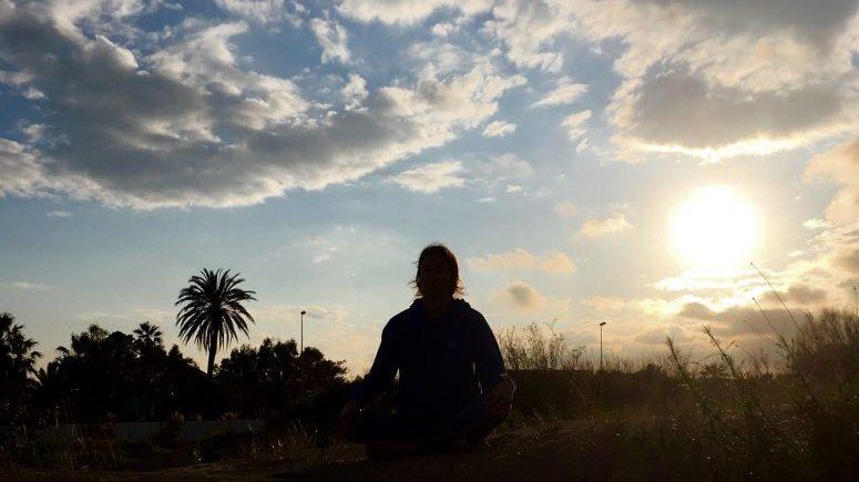 Pati meditando