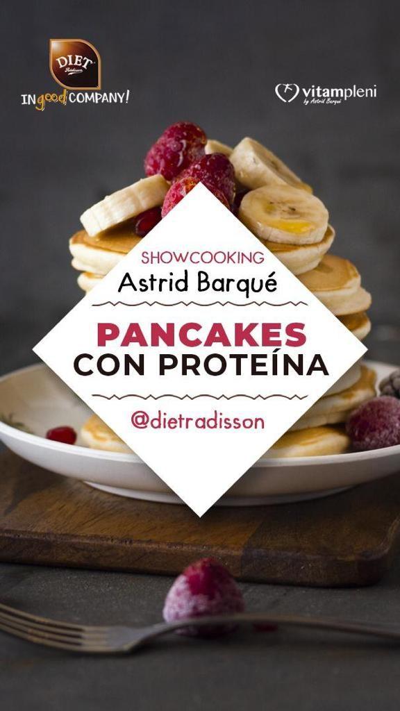 Pancakes con proteína