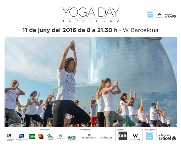 Diet Rádisson colabora con el Yoga Day by DIR a favor de Unicef